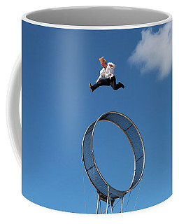 Bello Nock American Daredevil And Circus Performer Coffee Mug