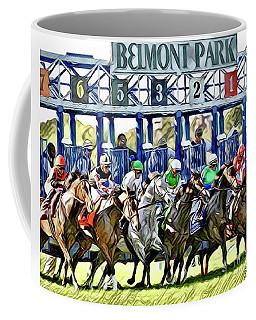 Belmont Park Starting Gate 1 Coffee Mug