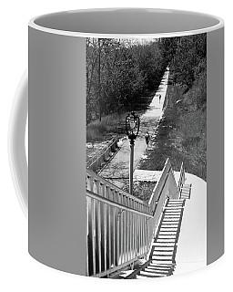 Coffee Mug featuring the photograph Below Brady Street by PJ Boylan