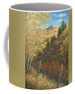 Belt Butte Autumn Coffee Mug