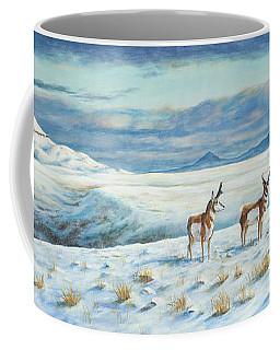 Belt Butte Winter Coffee Mug
