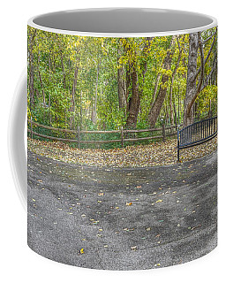 Bench @ Sharon Woods Coffee Mug