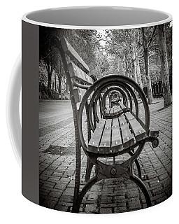 Bench Circles Coffee Mug