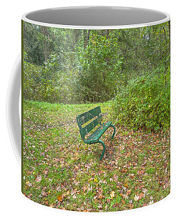 Bench Overlooking Pine Quarry Coffee Mug