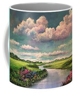 Beneath The Clouds Of Paradise Coffee Mug