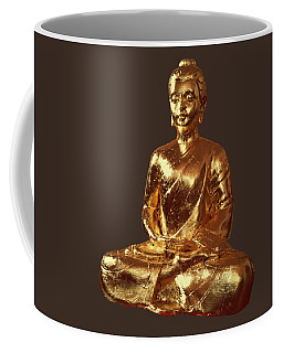 Coffee Mug featuring the sculpture Benevolence  B015 by Arttantra