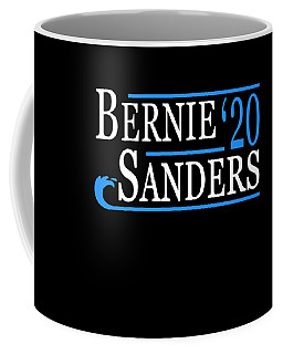 Bernie Sanders Blue Wave 2020 Coffee Mug
