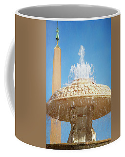 Bernini Fountain St Peter's Square Vatican City Coffee Mug