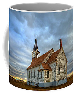 Bethel Scandinavian Lutheran Church At Sunset Coffee Mug