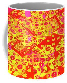 Betting Background Coffee Mug