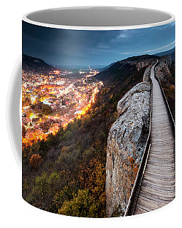 Between Epochs Coffee Mug