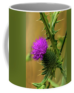 Between The Flower And The Thorn Coffee Mug