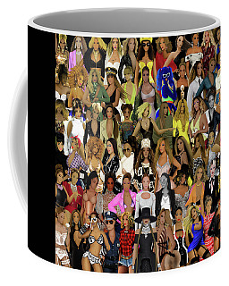 Beyonce - Collage Coffee Mug