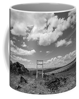 Beyond Here The Chair Project Coffee Mug
