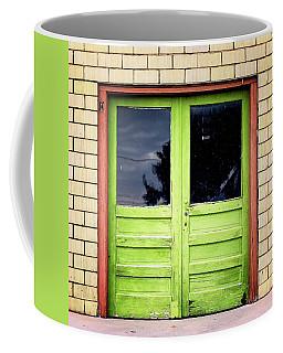 Beyond The Green Door Coffee Mug