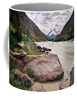 Coffee Mug featuring the photograph Bhag River by Whitney Goodey