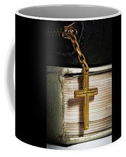 Bibles With Cross Coffee Mug