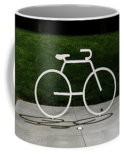 Coffee Mug featuring the photograph Bicycle by Randy Scherkenbach
