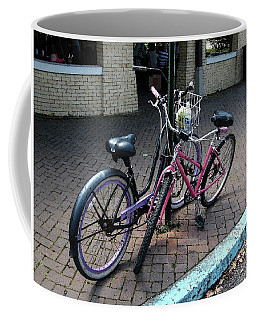 Bicycles City Park New Orleans Coffee Mug