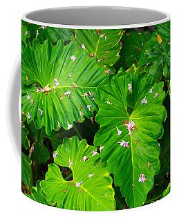 Big Green Leaves Coffee Mug