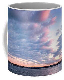 Big Sky Over Portsmouth Light. Coffee Mug