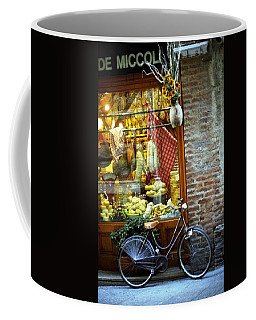 Bike In Sienna Coffee Mug