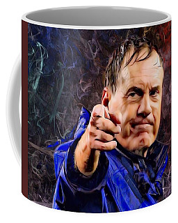Bill Stephen Belichick Portrait Coffee Mug