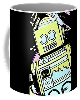 Bionic Comic Bot  Coffee Mug