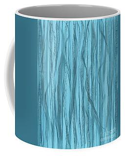 Birch Trees In Blue Light Coffee Mug
