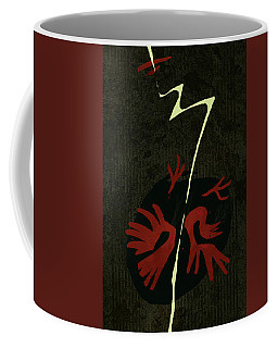 Bird And Lightning Coffee Mug