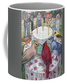 Bird Day Party Coffee Mug