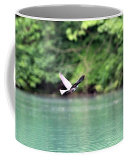 Coffee Mug featuring the photograph Bird In Flight by W And F Kreations