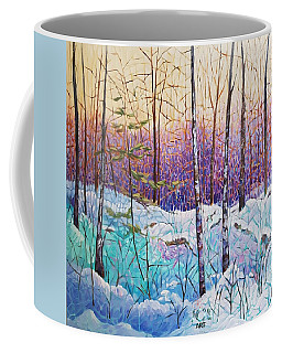 Birds Hill Trail Winter Walk Coffee Mug
