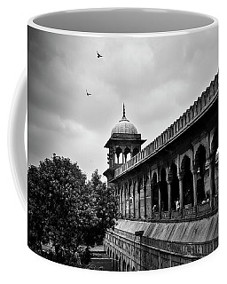 Coffee Mug featuring the photograph Birds Over The Jama Masjid by Whitney Goodey