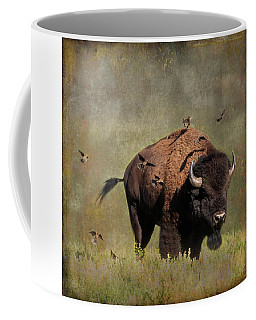 Bison And Friends Coffee Mug