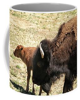 Bison In North Dakota Coffee Mug