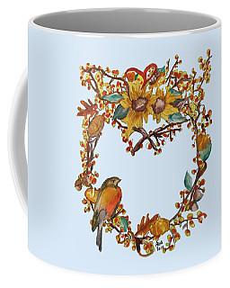 Bittersweet Wreath Coffee Mug