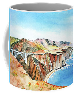 Bixby Bridge 3 Big Sur California Coast Coffee Mug