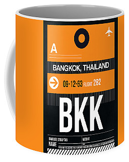Bkk Bangkok Luggage Tag I Coffee Mug