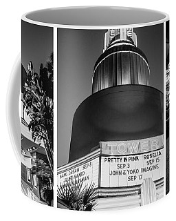 Black And White Triptych- Coffee Mug