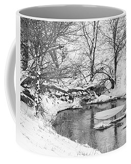 Coffee Mug featuring the photograph Black And White Winter 01 by Rob Graham