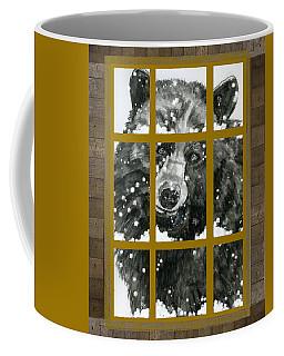 Black Bear, Outside My Window Coffee Mug