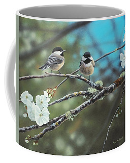 Black Capped Chickadees Coffee Mug
