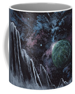 Black Ice Canyon Coffee Mug
