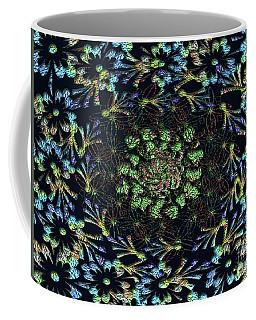 Coffee Mug featuring the photograph Black Russian Flora by Rockin Docks