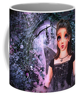 Black Widow Princess Coffee Mug