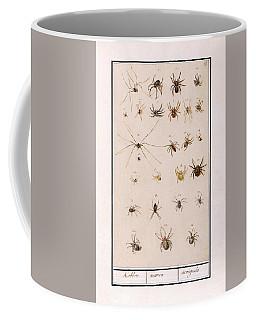 Blad Met Spinnen Coffee Mug