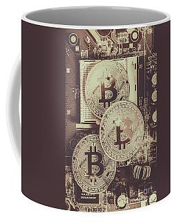 Blocks Of Bitcoin Coffee Mug