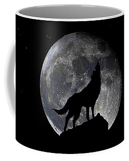 Pre Blood Red Wolf Supermoon Eclipse 873r Coffee Mug