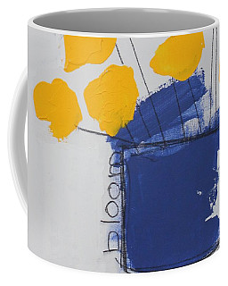 Coffee Mug featuring the painting Bloom by Kim Nelson